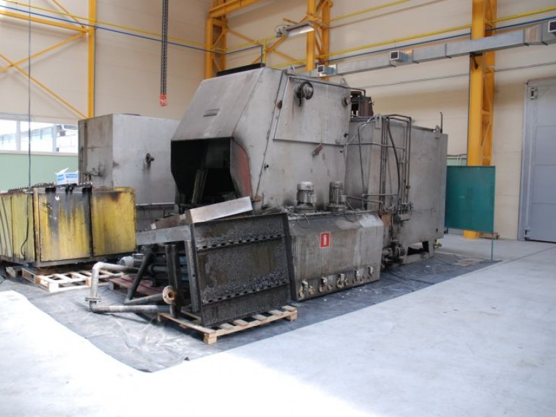 Chamber furnace type  PEKAT-2 - before modernization