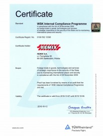 WSK Internal Compliance Programme